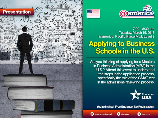 20160315_EducationUSA_Applying to Business Schools in the US_English